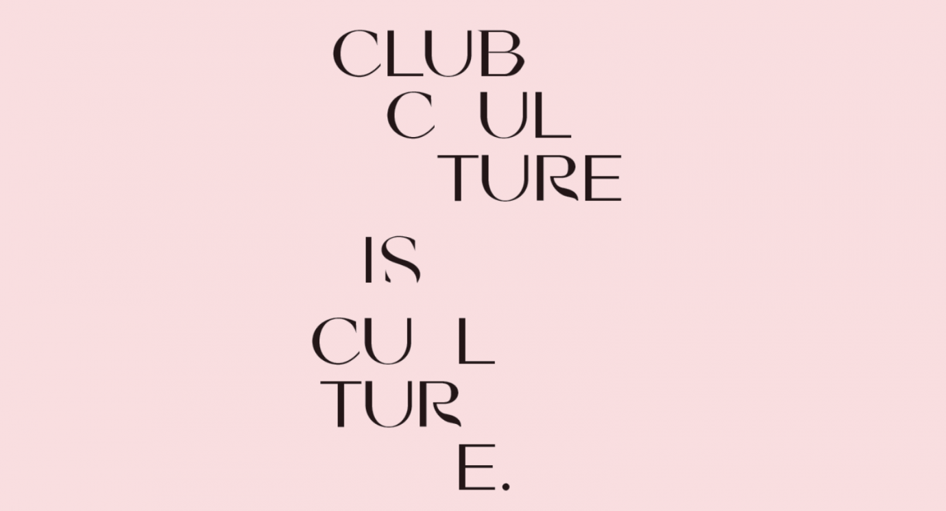 Club Culture is Culture Text
